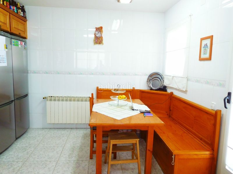 COCINA. House with fireplace heating parking pool in Caldes de Montbui