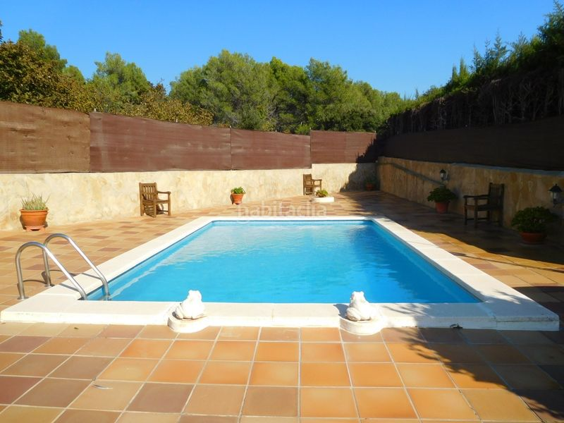 PISCINA. House with fireplace heating parking pool in Caldes de Montbui
