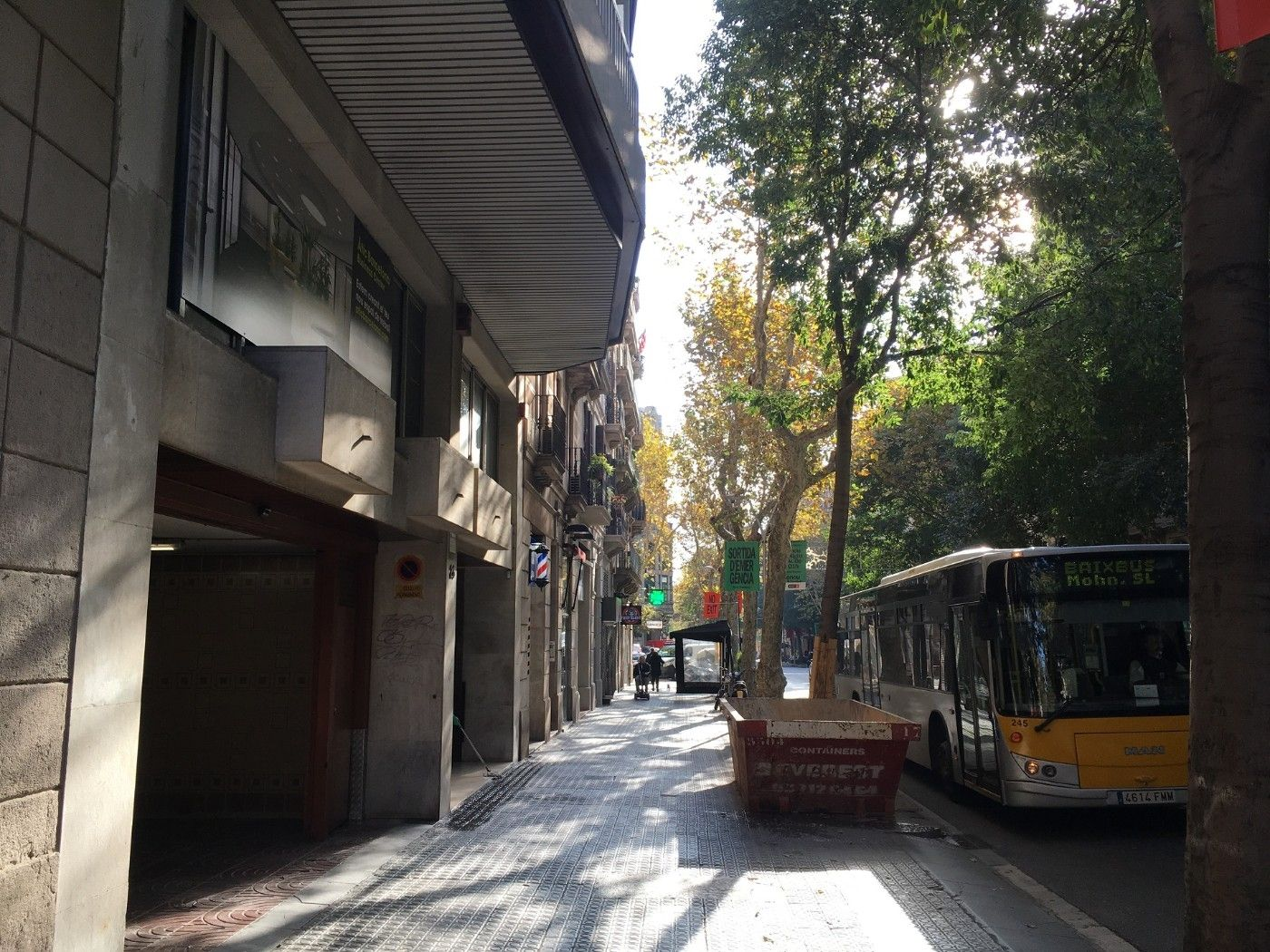 Alquiler Parking coche en Carrer aribau, 28. Plaza de parking en eixample