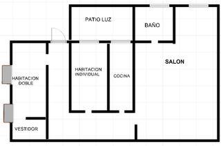 Apartament a Carrer sant pere mitja, 26