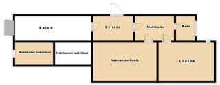 Apartament  Carrer argenter (l´)