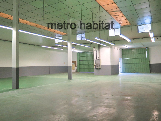 Alquiler Nave industrial  Poligon can verdalet. Nau diàfana de 600m² amb instal.