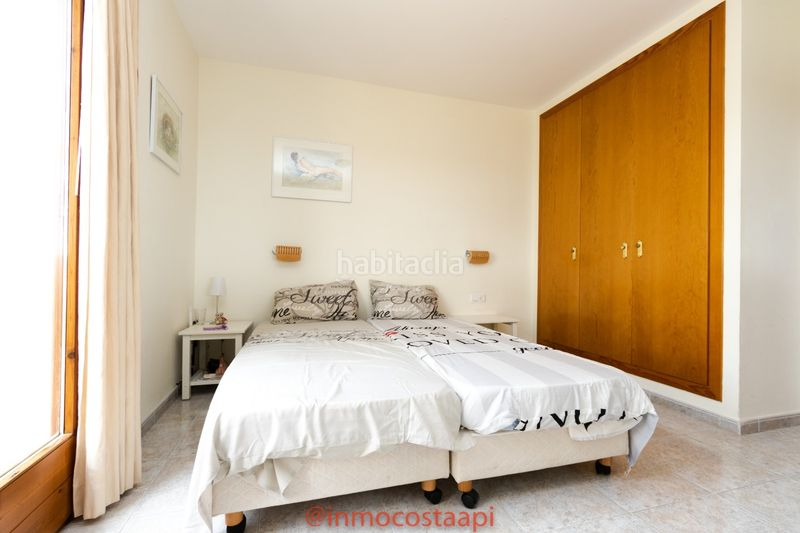Dormitorio doble. Casa pareada en carrer suissa casa con piscina privada en Estartit
