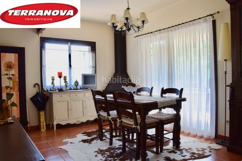 Salón comedor. House with fireplace heating parking pool in Ametlla del Vallès (L´)