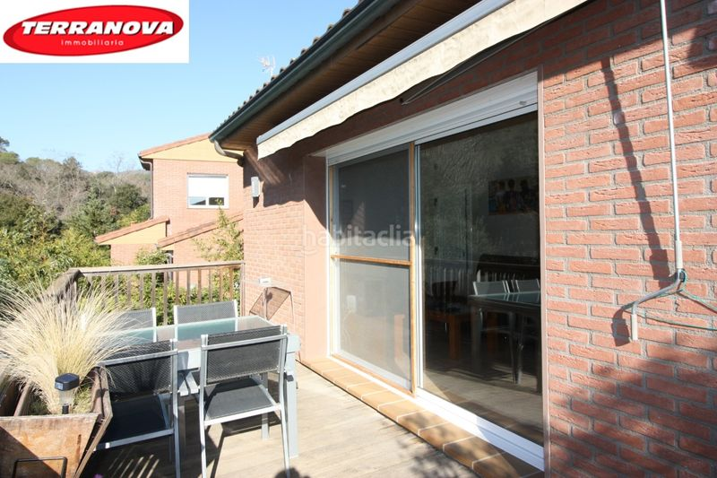 Terraza. House with heating parking in Ametlla del Vallès (L´)