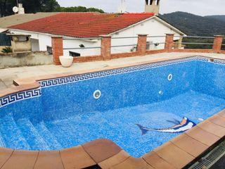 Chalet Carrer Oliveres (de Les), 1. Mit garage und privatem pool