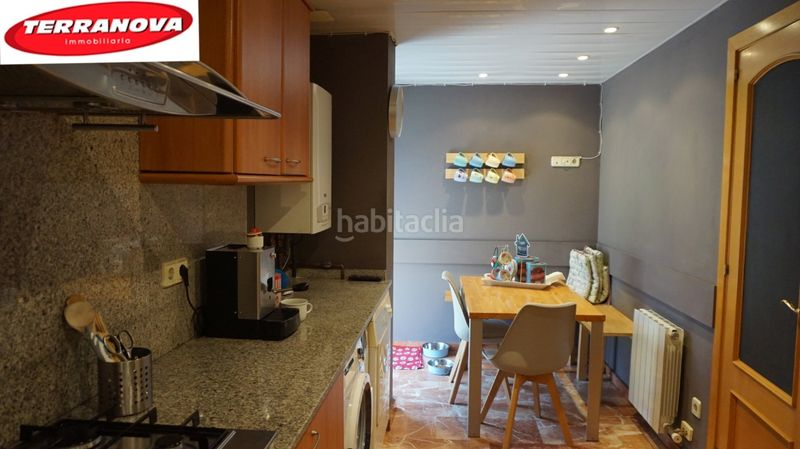 Cocina. Semi detached house with fireplace heating parking pool in Ametlla del Vallès (L´)
