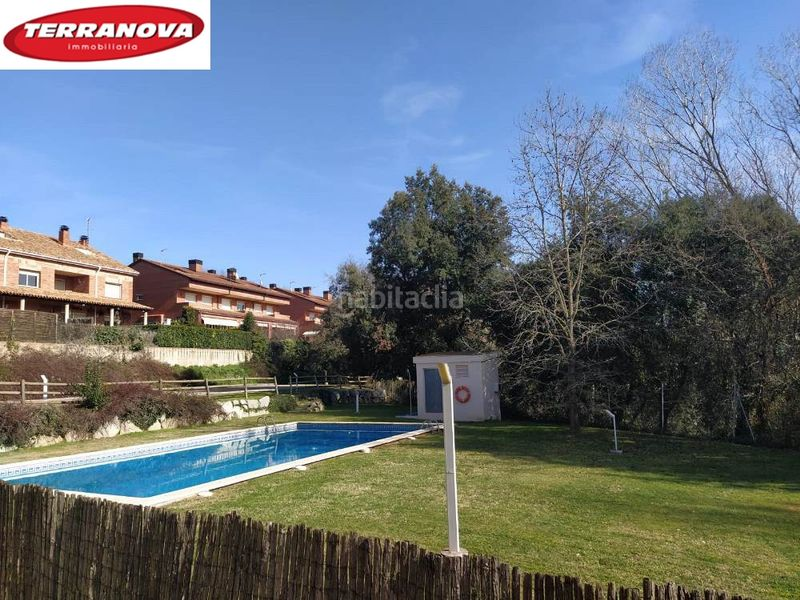 zona cominitaria. Semi detached house with fireplace heating parking pool in Ametlla del Vallès (L´)