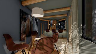 Casa a Rue du lac, sn. Osseja casa nid 1