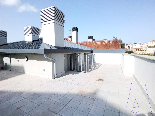 Duplex  Ronda alfons xii. Obra nueva con terraza