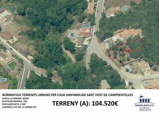 Terreno residencial  Reservat. no disponible.. Reservat. no disponible.
