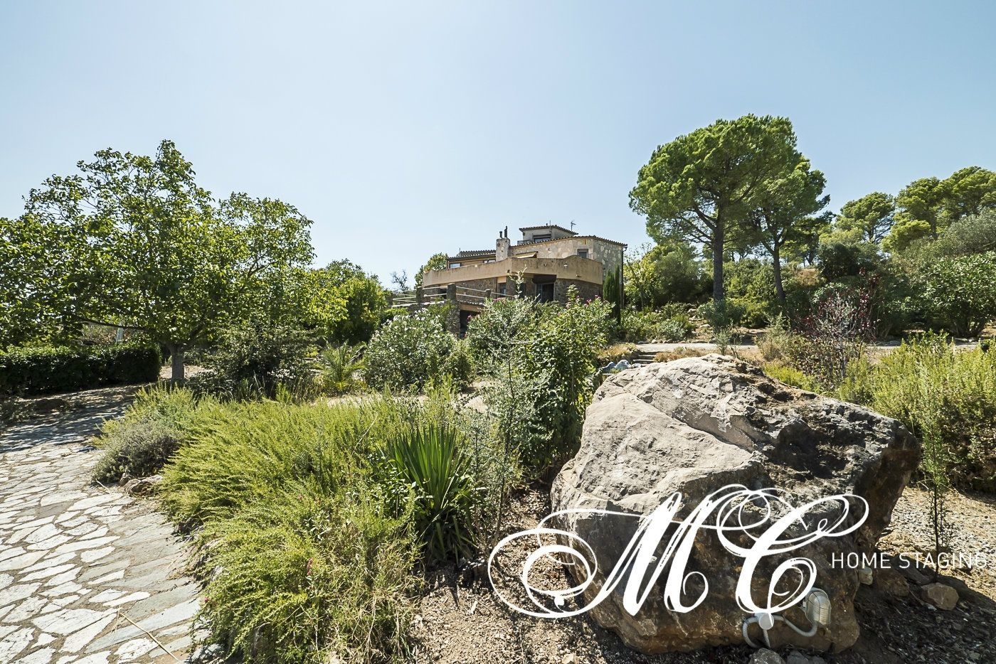 Country house in Carrer de l´esglesia, 1. Encantadora masia con vistas