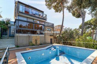 Casa  Can rectoret. Jardín, piscina y vistas