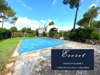 Haus in Vallirana, 1. Terreno plano - piscina