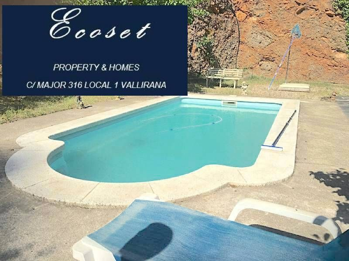 Casa a Vallirana, 1. Cerca del pueblo - piscina