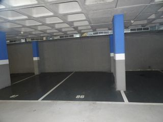 Autoparkplatz  Carrer pare sallares. Parking al centre