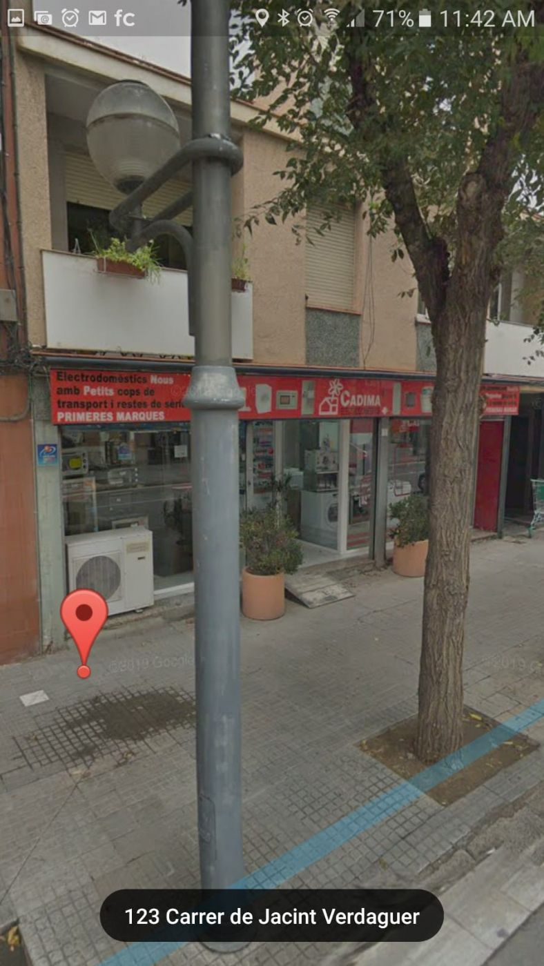 Location Local commercial  Jacinto verdaguer. Local alquiler molins rei