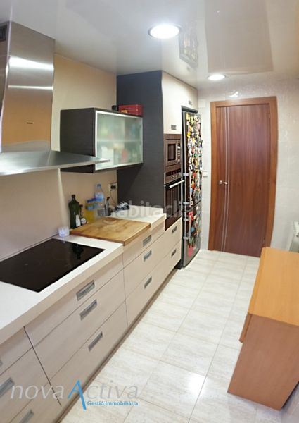 Cocina Equipada. Flat with heating in Riu Sud Santa Coloma de Gramenet
