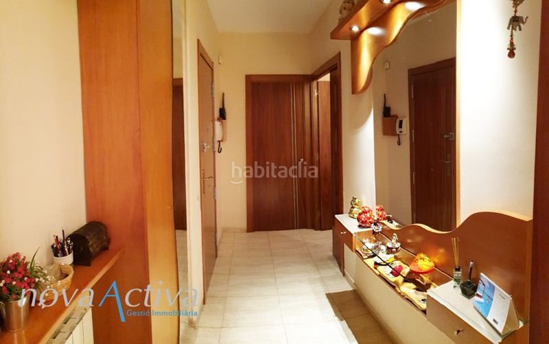 Recibidor. Flat with heating in Riu Sud Santa Coloma de Gramenet